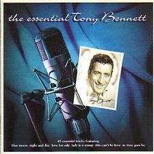 The Essential Tony Bennett 2-CD NEW 1999 Blue Moon/Night & Day/Lady Is A Tramp+