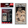 Ultra PRO Tobacco Size Soft Sleeves Card Protectors Clear 100ct