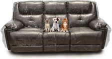 Besti Plastic Couch Cover for Pets – Clear Slipcovers for Sofa, Chair, Lovesea