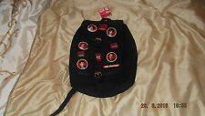 one direction ruck sack, badge design, buckle fastening