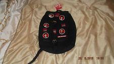 one direction ruck sack, badge design, buckle fastening