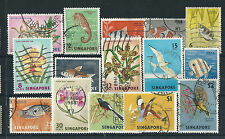 Birds Singapore Stamps (1963-Now)