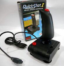 Joystick QuickShot I Amiga C64 Atari CPC new unused bad packaging