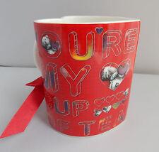 ME to You Tatty Teddy-Rosso Tazza a forma di cuore NUOVO-Sei la mia tazza di tè
