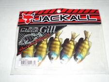 "JACKALL Clone Gill Soft Plastic Dropshot 2.5"" 5ct - GHOST BLUEGILL - CLONE GILL"