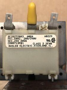 "Basler Transformer; BE28272003; ""USED"""