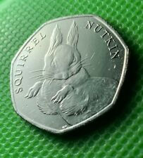 50p Coin Squirrel Nutkin 2016
