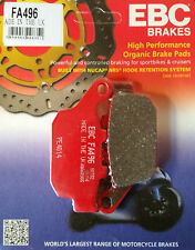 EBC/FA496 Brake Pads (Rear) - Suzuki SFV650 Gladius, GW250 Inazuma, Honda CBR250