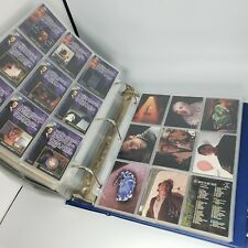 Huge Lot Of Vintage Cards X-files, Hildebrandt 120+ pages 1990s very cool!