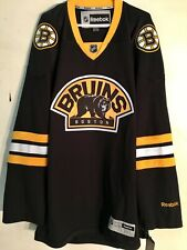 Reebok Premier NHL Jersey Boston Bruins Team Black Alt sz 3XL
