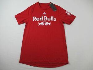 New York Red Bulls adidas Aeroready Short Sleeve Shirt Men's NEW Multiple Sizes