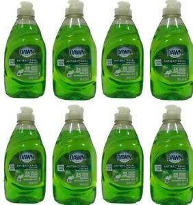 8 Dawn Ultra Antibacterial Dish Soap Apple Blossom scent 7 oz each