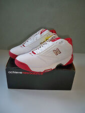 NEW 2003 New Balance Red & White Basketball shoes Style #BB885RD  SZ 9.5 w/box