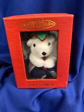 Santa Bear Miniature Stuffed Animal Coca-Cola 1999 Dayton Hudson Marshall Fields