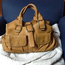 Cole Haan Village Soft E/W Triple Zip Bag > Leather Handbags!!MSRP $450  EUC!!!