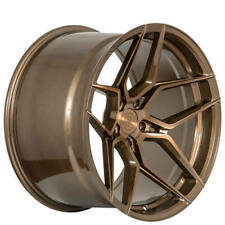 "4ea 19x8.5/19x11"" Staggered Rohana Wheels RFX11 Brushed Bronze Rims (S4)"