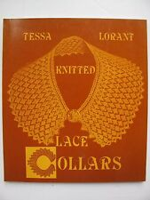 KNITTED LACE COLLARS by TESSA LORANT - VICTORIAN KNITTING DESIGNS