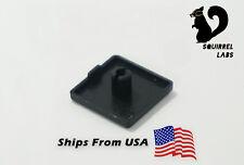 2 PCS Plain Black End Cap for 2020 Extrusion RepRap Hobby Accessories
