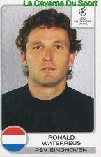 097 WATERREUS NETHERLANDS PSV EINDHOVEN STICKER CHAMPIONS LEAGUE 2002 PANINI