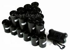2000 STRONG, ECONOMICAL  DOG POOP PICK-UP BAGS+ 2 BAG DISPENSERS *FREE SHIPPING!