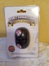 BOSTON RED SOX PORTABLE SPEAKERS SET OF 2 TRIBECA OPEN BOX