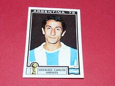99 ARDILES 1978 ARGENTINA 78 FOOTBALL PANINI WORLD CUP STORY 1990 SONRIC'S
