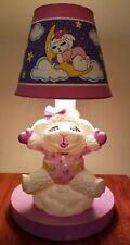 Vintage Lamb Chop Night Light Nursery Lamp Kids Room Decor Shari Lewis Ent 1993
