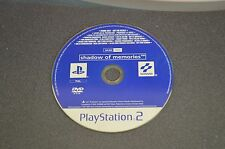SHADOW OF MEMORIES PROMO PLAYSTATION 2 PS2