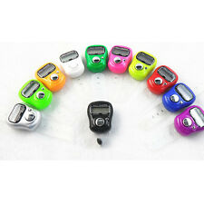 5pcs of Electronic Digital Golf Finger Mini Tally Counter Counting Recorders