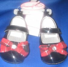INFANT SIZE 1 DRESS SHOES GIRLS (3TO 6 MOS RISING STAR BABY SHOES, NEW