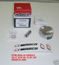 WISECO 4981M07600 76MM STD BORE FORGED PISTON KTM 250 SX-F XC-F XCF-W HUSABERG