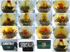 24 Organic Blooming Flower Green Tea Variety Gift pack