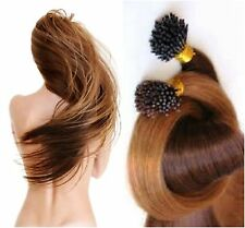 """Pre-Bond 18"""" I-Tip European Remy AAA Grade Hair Extensions 100 Strand Any Color"""