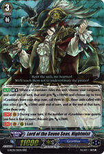 1x Cardfight!! Vanguard Lord of the Seven Seas, Nightmist - G-RC01/011EN RRR NM