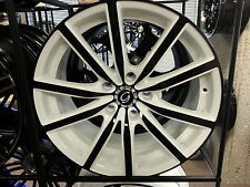 "18"" 4 New # 5363 White Black face Diamond Edition wheels Rims 5X120 38 offset"