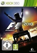 Microsoft Xbox 360 game - F1 / Formula One 2010 boxed