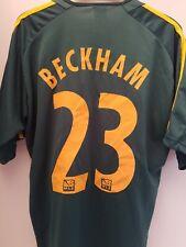 David Beckham LOS ANGELES GALAXY MLS Soccer Jersey YOUTH LARGE