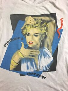 Vintage  Madonna 1990 Boy Toy Blonde Ambition Tour Single Stitch Tshirt Size XL