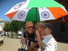 India Independence Day flag cricket fan umbrella