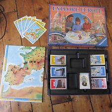 Explore Europe Ravensburger Board Game Classic Early 90s 92 Travel Childrens