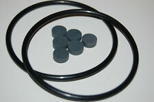 2 Nab Rubberrings and 6 Pucks  Revox Adapters new (also for BASF Adapters)