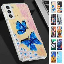 For Samsung Galaxy Note 8 9 10 20 S10 S20 S21 Animal Painted Pattern Phone Case
