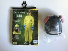 AMC Breaking Bad Hazmat Costume Suit Chemical Dress Up One Size Fits Most NEW