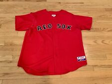 Authentic Boston Red Sox Majestic Jersey Size XL Performance Apparel