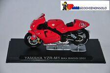 MOTO COLLEZIONE GP54 - YAMAHA YZR-M1 MAX BIAGGI ANNO 2002