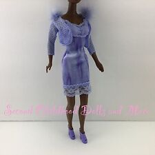 NEW BARBIE DOLL CLOTHES Glam N Groom Christie Mesh Jacket Dress Platform Heels