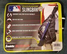 Franklin Multi-Purpose Slingbak Baseball / Softball Equipment Bag - Black & Gray