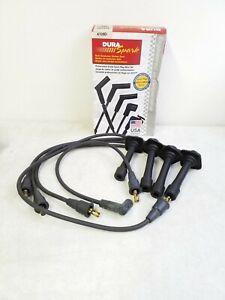 4109D Pro Tech Dura Spark Dual Conductor Carbon Core Spark Plug Wire Set 7mm Bla