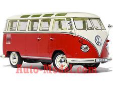 1:18 KK-Scale 1962 Volkswagen T1 Samba Cream/Red