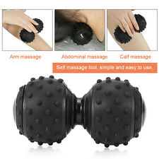 Particle fitness ball Double Lacrosse moving myofascial trigger point massage